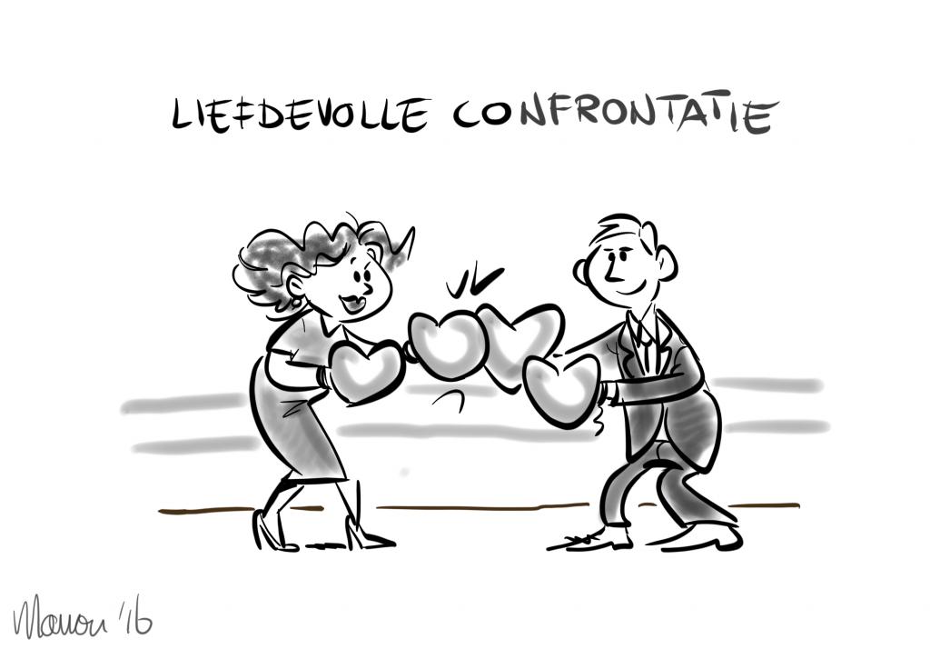 Liefdevolle confrontatie